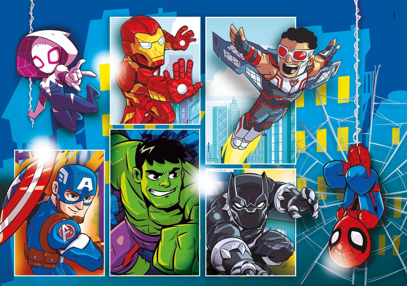 Puzzle SuperColor 30: Superhero (20256)