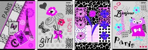 Zeszyt A5 Top2000 w linie 60 kartek Wild Streets 10 sztuk mix