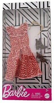 Barbie: Modne kreacje - sukienka w panterkę (FND47/GHW89)