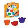 Kredki Misiaki Baby 6 kolorów CARIOCA