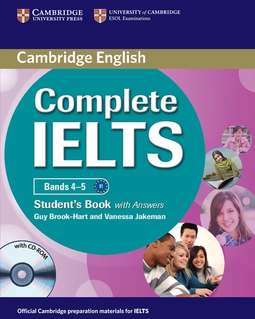 Complete IELTS Bands 4-5 Student's Book with answers with CD-ROM Brook-Hart Guy, Jakeman Vanessa