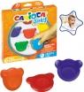 Kredki Misiaki Baby Carioca, 6 kolorów (42956)