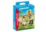 Farmerka z owieczkami - figurka (9356)