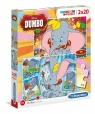 Puzzle Supercolor 2x20 Dumbo (24756)