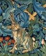 Karnet 17x14cm z kopertą The Hare from The Forest tepestry