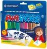 Centropen: Airpens Cool Colours 1500, 10 kolorów + 4 szablonów (615001005)