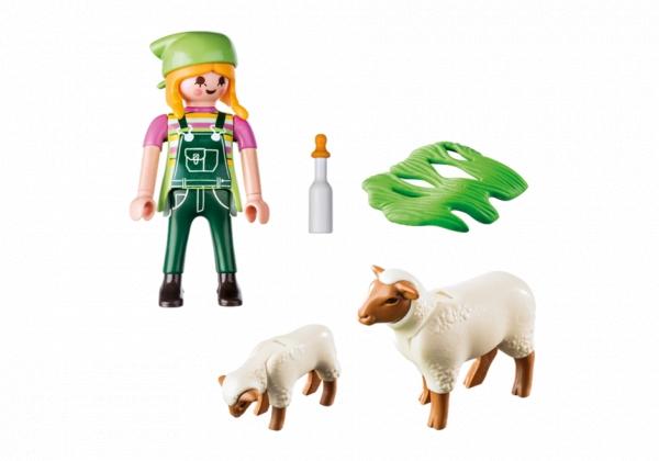 Playmobil Special Plus: Farmerka z owieczkami - figurka (9356)