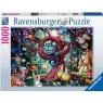 Ravensburger, Puzzle 1000: Prawie wszyscy są szaleni (Alicja w krainie czarów)