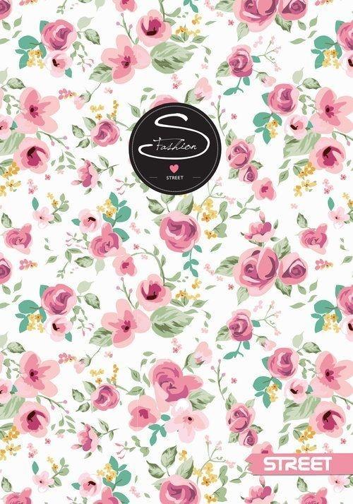 Notes Flowers Street A6 40 kartek 10 sztuk