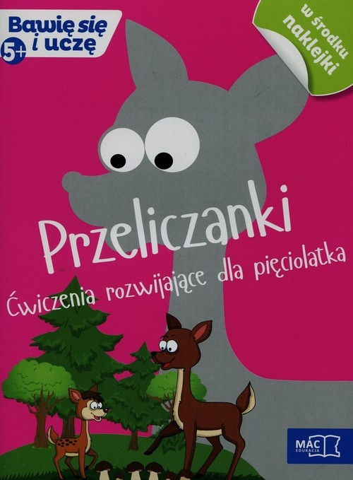 Przeliczanki ćwiczenia rozwijające dla pięciolatka Żaba-Żabińska Wiesława