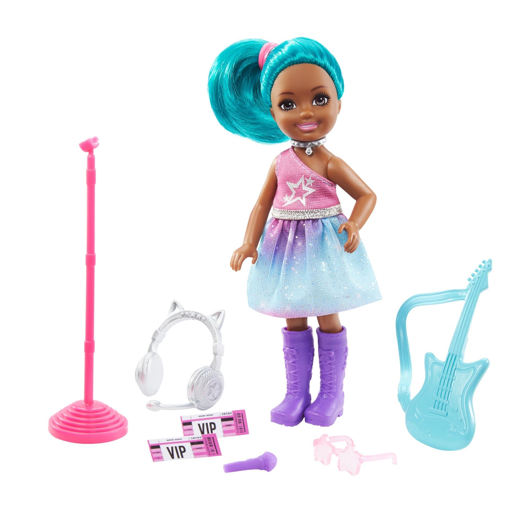 Barbie Chelsea: Gwiazda rocka (GTN86/GTN89)