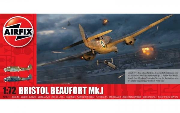 Model do sklejania Bristol Beaufort Mk.1 1/72 (04021)