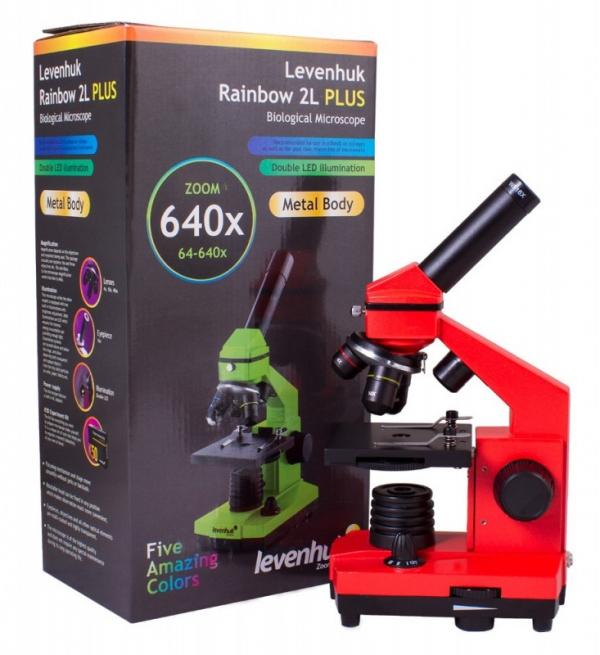 Mikroskop Rainbow 2L plus pomarańczowy (69121)
