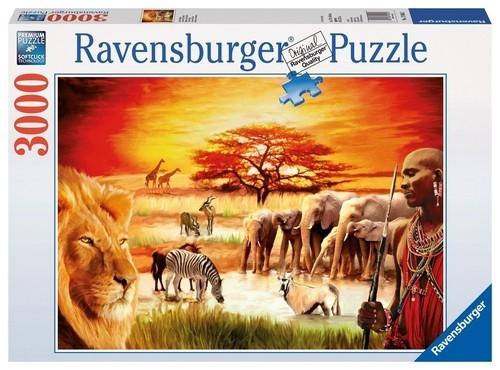 Puzzle 3000: Sawanna Masajów (170562)