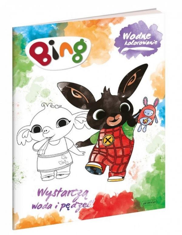 Książeczka Bing. Wodne Kolorowanie (61562)