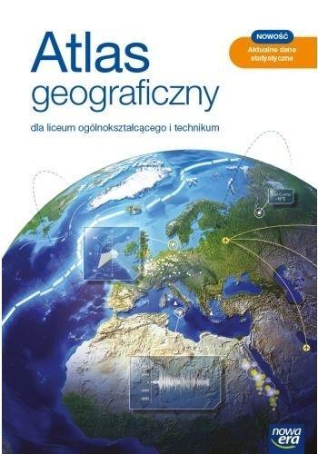 Atlas Geograficzny LO 2021 BR NE Praca zbiorowa