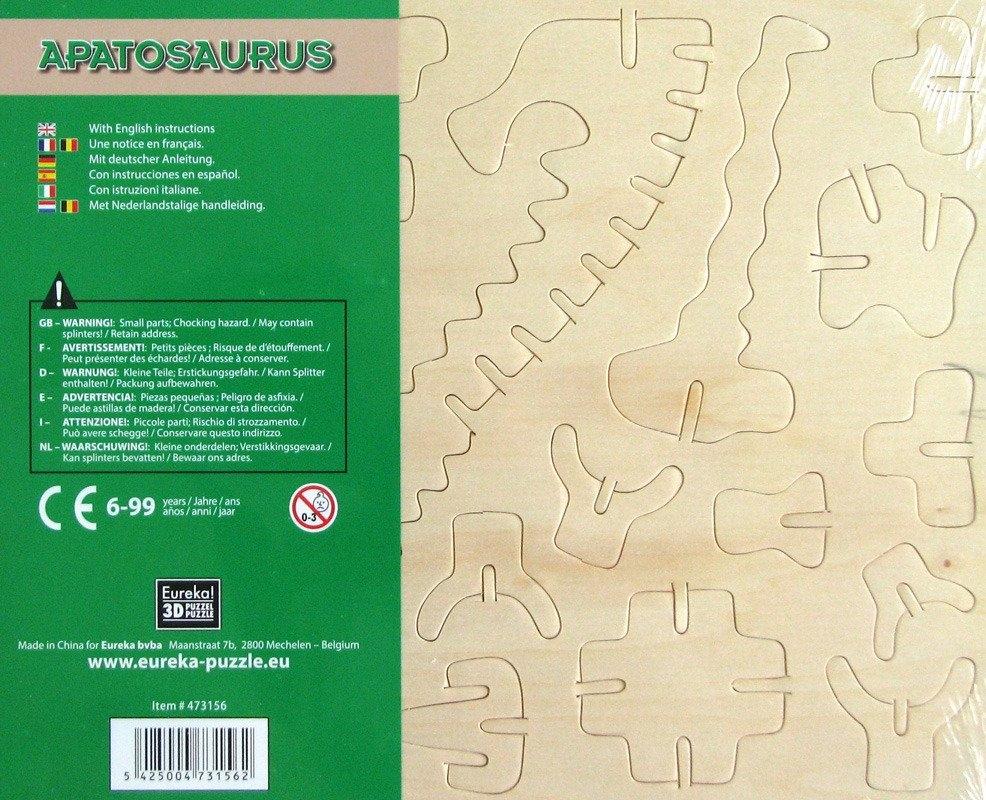 Łamigłówka drewniana Gepetto - Apatozaur (106142)