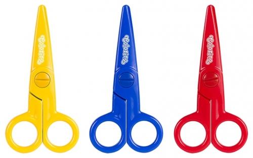 Nożyczki plastikowe Colorino 12,5cm (92562PTR)