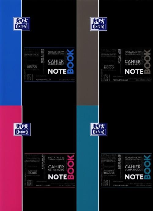 Kołonotatnik A4 Oxford w kratkę 80 kartek Notebook mix