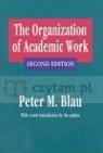 The Organization of Academic Work