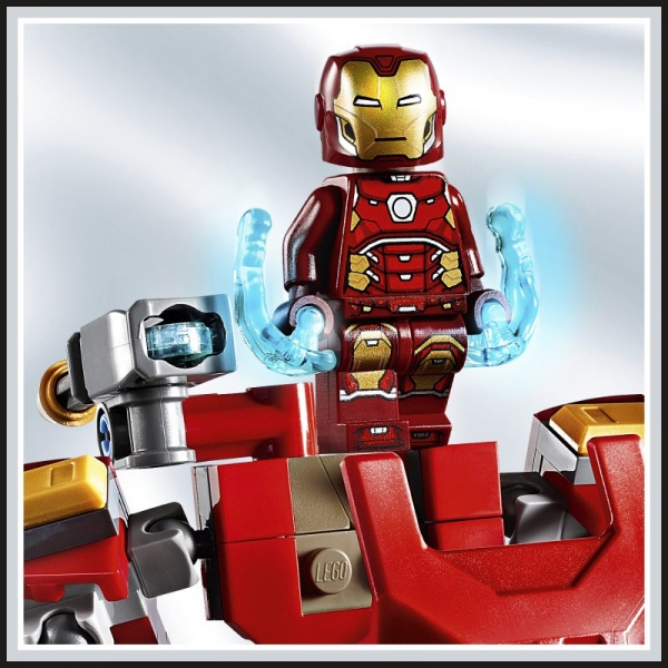 Lego Marvel Super Heroes: Mech Iron Mana (76140)