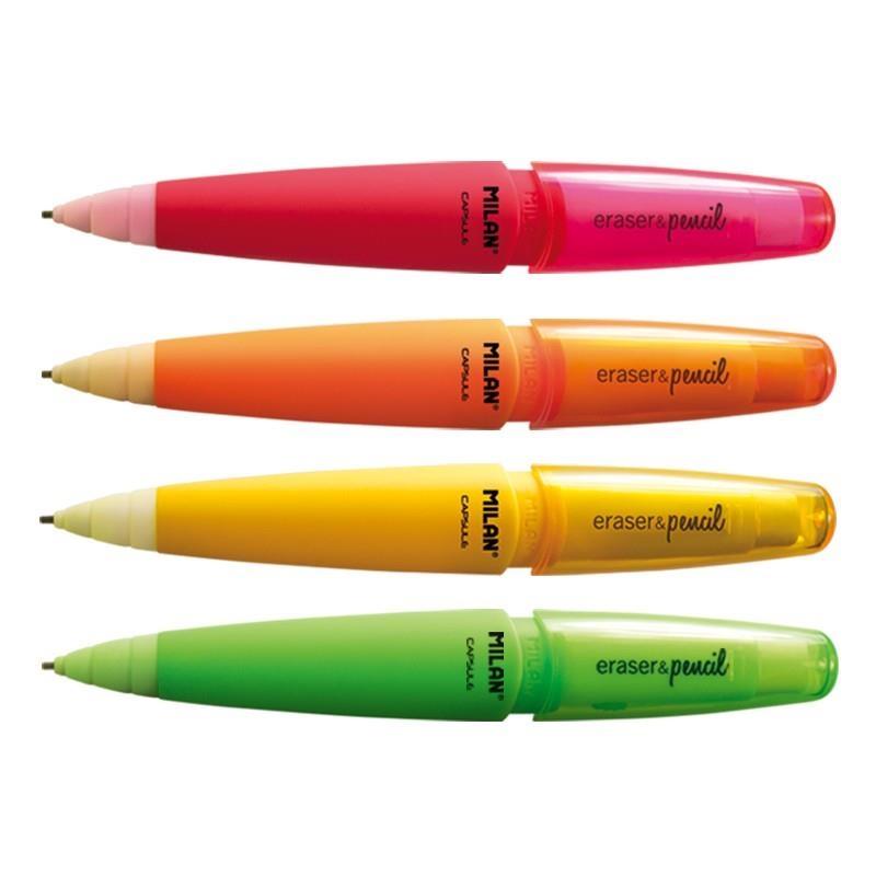 Ołówek automatyczy Milan Capsule Fluo 2B 1,3 mm (BYM10306)