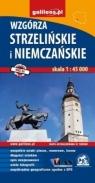 Mapa turystyczna - Wzgórza Strzelińskie i Niemcz.
