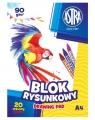 Blok rysunkowy A4/20 arkuszy (106119001)