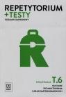Repetytorium + testy. Egzamin zawodowy. Kwalifikacja T.6. Kucharz technik żywienia i usług gastronomicznych