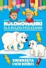 Kolorowanki dla kolegi i koleżanki Zwierzęta i ich dzieci