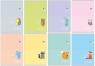 Zeszyt A5/16 kartkowy w kolorowe linie