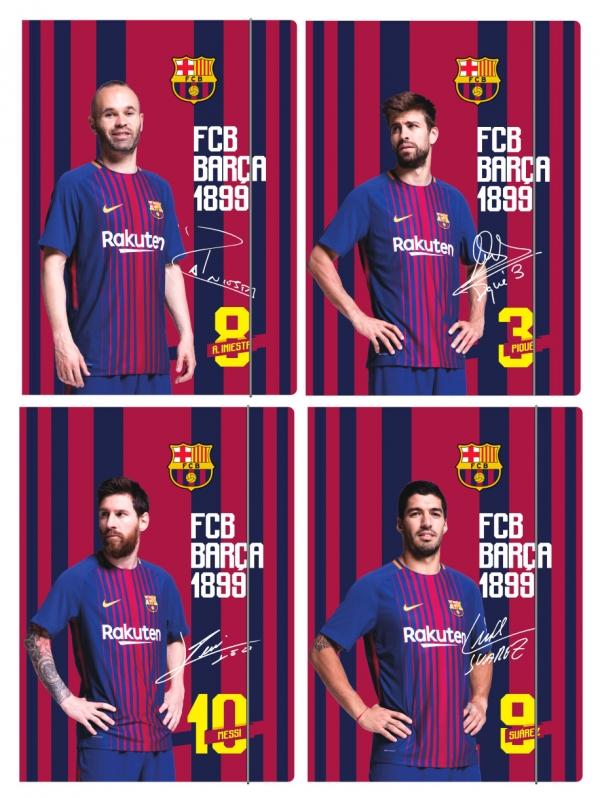 Teczka z gumką A4 - FC Barcelona Fan 6 (108018001)