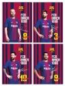 Teczka z gumką A4 - FC Barcelona Fan 6 (108018001)mix