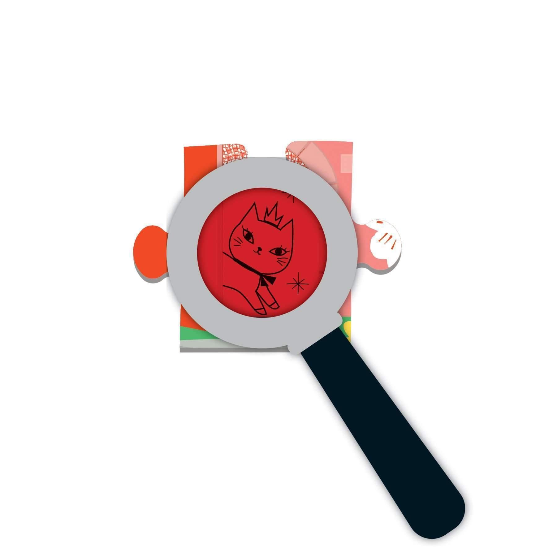 Mudpuppy, puzzle z ukrytymi obrazkami 42: Zamek jednorożca (MP57563)