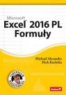 Excel 2016 PL Formuły Michael Alexander, Richard Kusleika