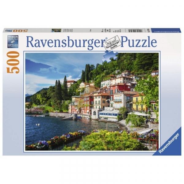 Puzzle 500: Włoskie jezioro Como (147564)