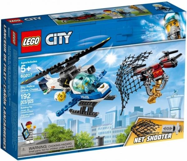 Lego City: Pościg policyjnym dronem (60207) (Zgnieciony kartonik)