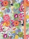 Notatnik midi Jaskrawe Kwiaty