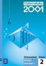 Matematyka 2001 2 Zeszyt ćwiczeń Część 1 Gimnazjum