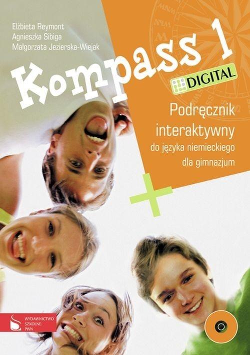 Kompass 1 Digital Podręcznik interaktywny do języka niemieckiego Reymont Elżbieta, Sibiga Agnieszka, Jezierska-Wiejak Małgorzata