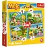 Puzzle 4w1: Przygody Pszczółki Mai (34356)
