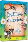 Brzechwa dzieciom kolorowe ilustracje, kreda, duża czcionka Jan Brzechwa