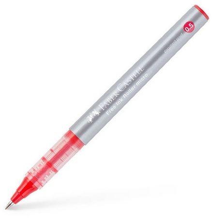Cienkopis kulkowy Free Ink 0,5 mm czerwony (348503)