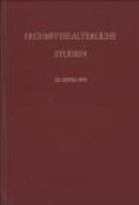 Fruhmittelarterliche Studien 28 Band 1994