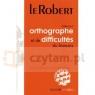 Le Robert Dictionnaire d'ortographe et de difficultes du francais (colletion Les