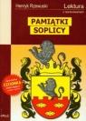 Pamiątki Soplicy (Uszkodzona okładka) Lektura z opracowaniem Rzewuski Henryk