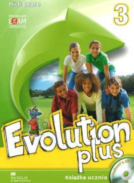 Evolution Plus 3 Książka ucznia z płytą CD Beare Nick