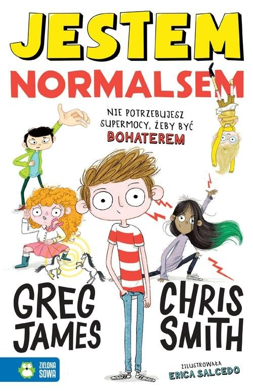 Jestem Normalsem James Greg, Smith Chris