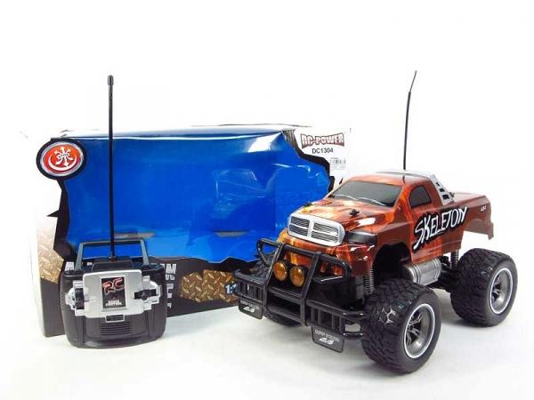 Auto na radio na dużych miękkich kołach (AH028206)