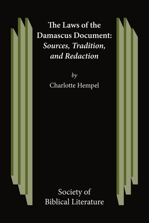 The Laws of the Damascus Document Hempel Charlotte